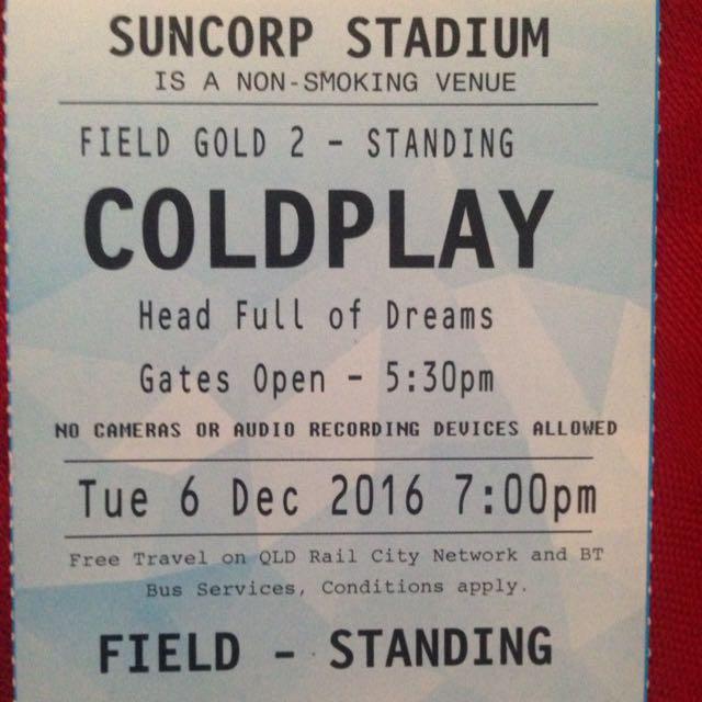 Cosplay Ticket