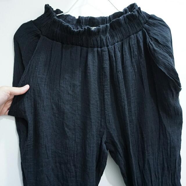 #Buy1Get1Free F Block Harem Pants