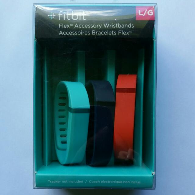 Fitbit Flex Wristbands (×3)