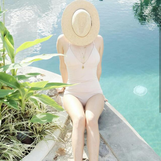 Float Swim One Piece Blush Bikini