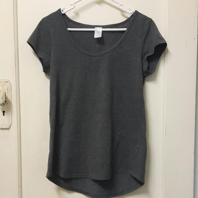 Gray Top Size 10