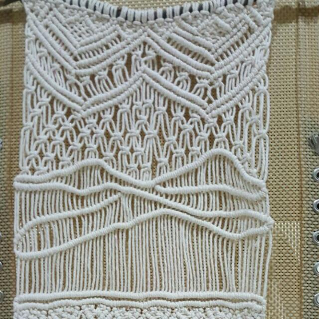 ♻♻Handmade Macrame Wall Hanging -The Breeze