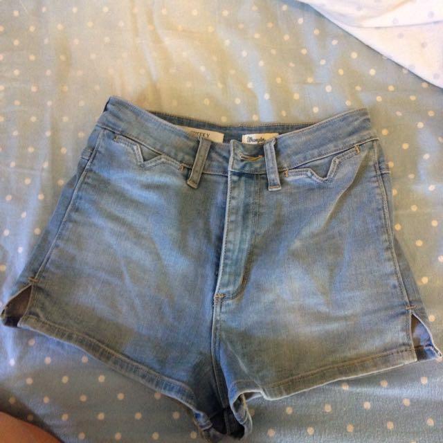 Hi.cheeky Wrangler Shorts