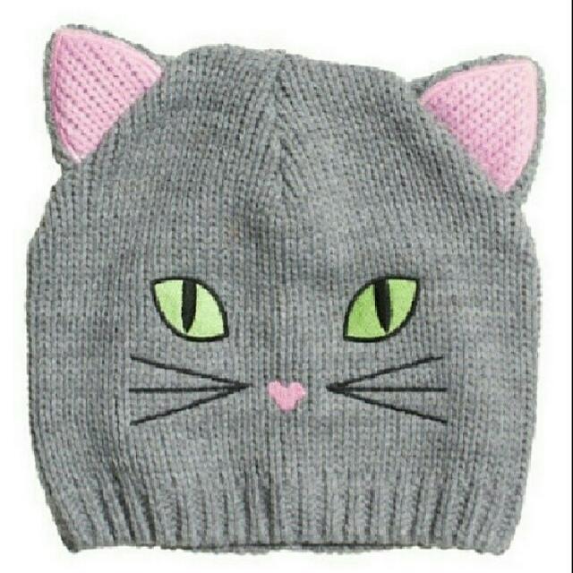 H&M Kitty Beanie - new
