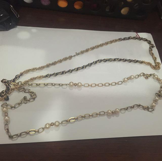Kalung Gold Panjang