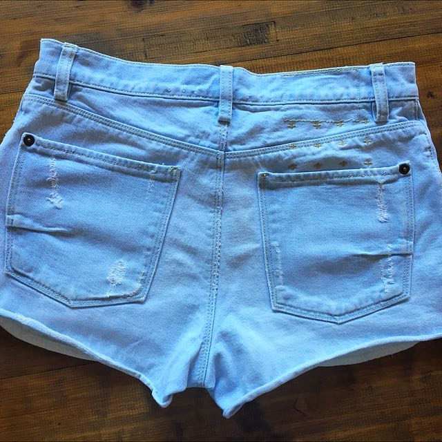Ksubi (original) Women's Cut Off Shorts -size 6