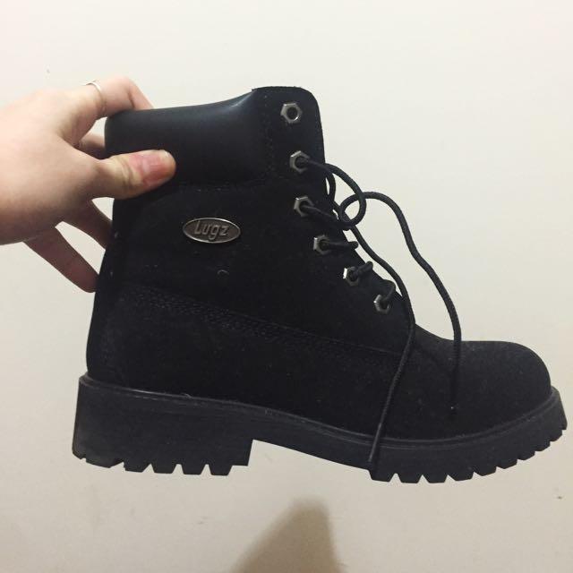 Lugz Black Boots