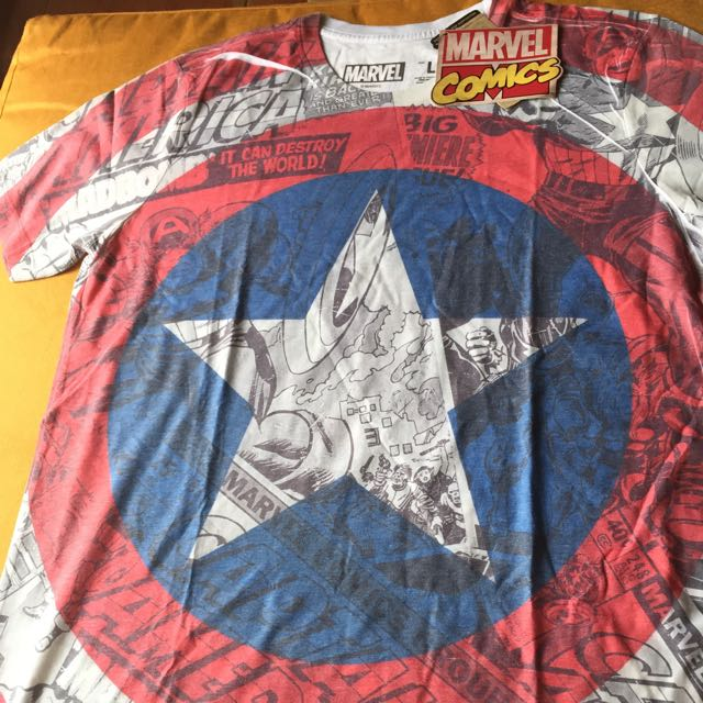Marvel Comic Shirt