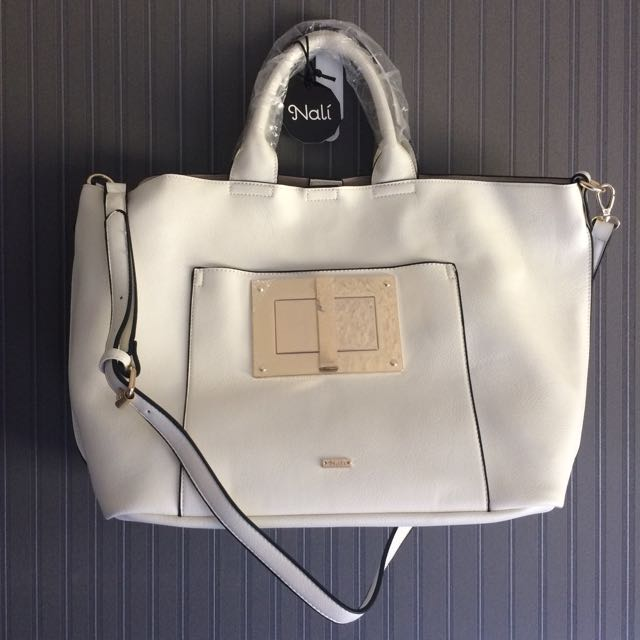 Nali Shopper Bag (ASOS) with Gold Hardware