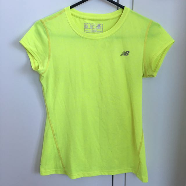 Neon Yellow Sports Top