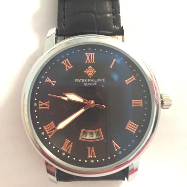 Patek Phillippe Leather Watch