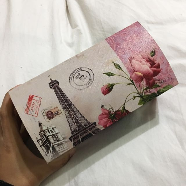 Pink Paris Jewellery Box