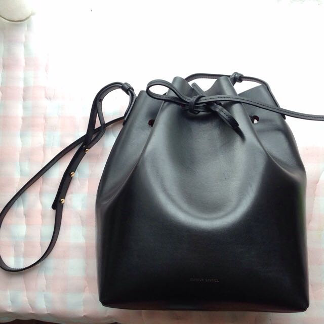 9148d85122da5 Price Reduced authentic mansur gavriel bucket bag- Flamma