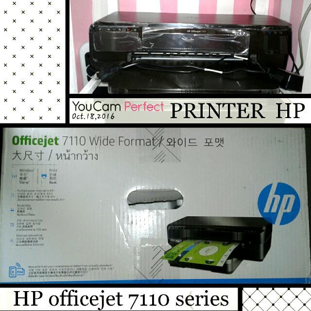 printer hp officejet 7110 series