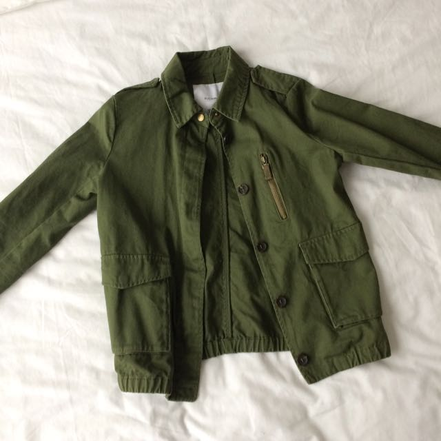 Pull & Bear Safari Bomber Jacket