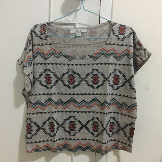 [REPRICED] Forever 21 Tribal Crop Top