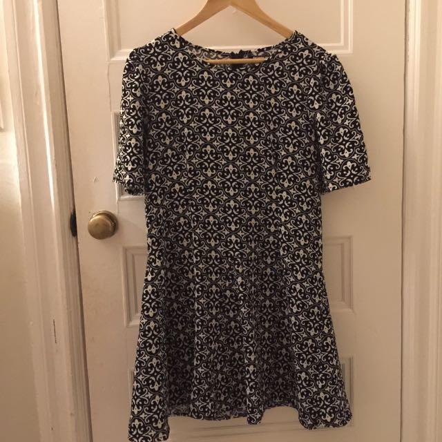 Skater Style Dress, Size 10