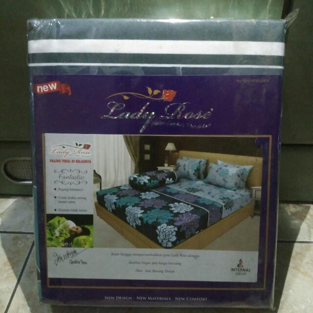 Sprei Lady Rose 180x200