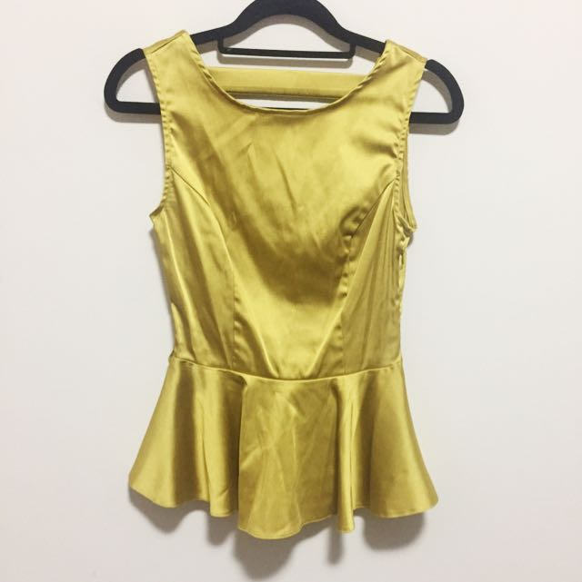 Summer Top Gold