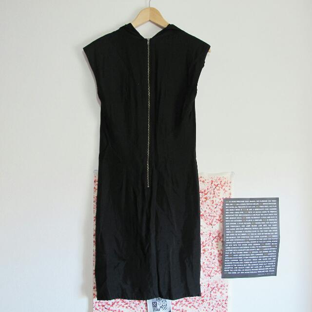 Sz 10 Country Road Black Dress