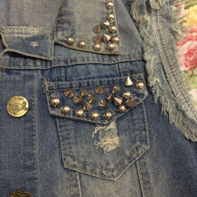 Vest Stud Jeans