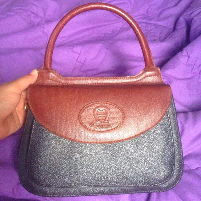 REPRICED! Vintage Hand Bag Korea