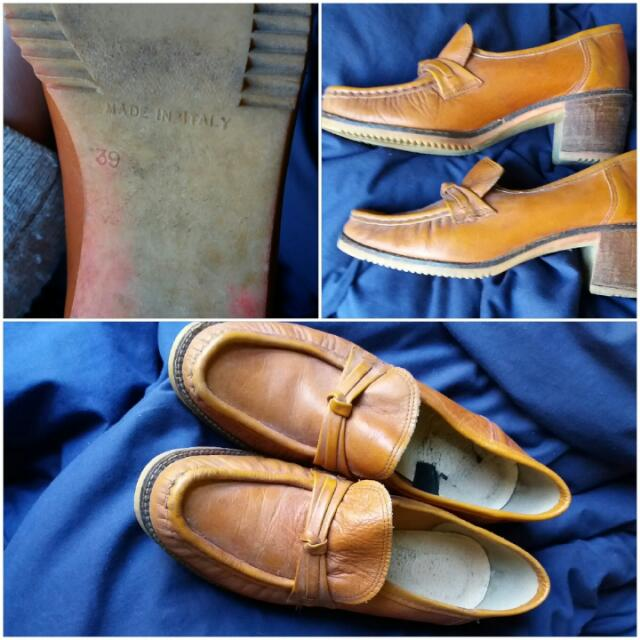 Vintage Italian Leather Shoes