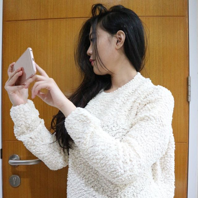 White Sweater (Made In Japan)