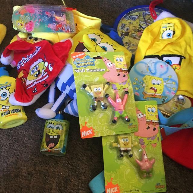WHOLESALE BULK SpongeBob Squarepants