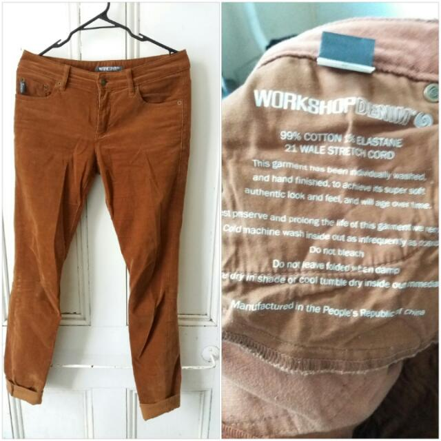 Workshop Corduroy pants