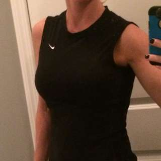 Black Nike Workout Top