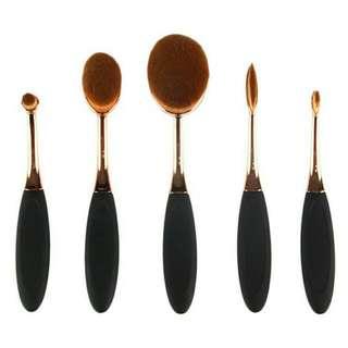 Oval Brushes Isi 6 Pcs