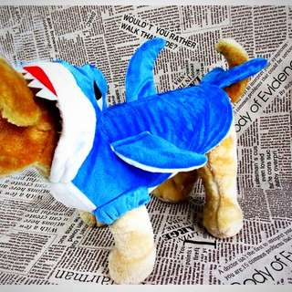 Cat/small Dog Shark Costume
