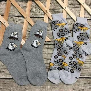 花豹造型長襪