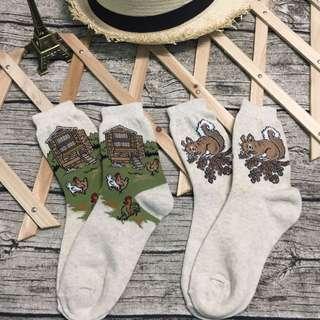 農場公雞襪子