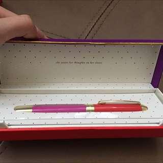 Kate Spade Pen In Box