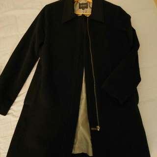 BOSCH黑色羊毛外套#降價#