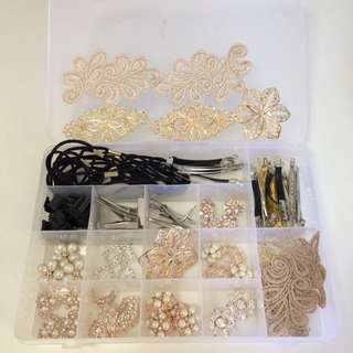 Beads & Hair Accessories Materials