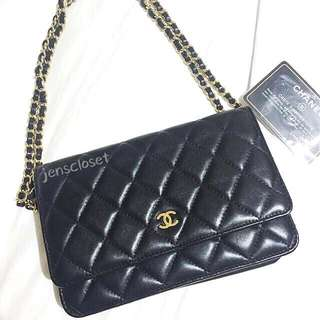 Chanel Lambskin WOC (Wallet On Chain)