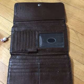 Brown Wallet For Sale