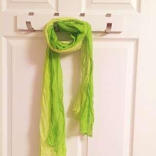 Green Gradient Scarf
