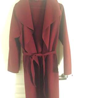 Water Fall Long Coat One Size