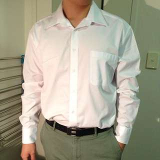 G2000 White Dress Shirt (Regular Fit)