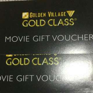 *RESERVED* A Pair Of Golden Village Gold Class Ticket