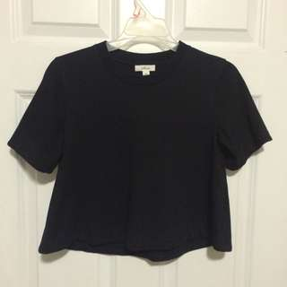 Aritzia Wilfred Cropped T Shirt