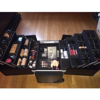 Makeup Train Case (Makeup NOT INCLUDED)