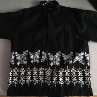黑色襯衫 oversize