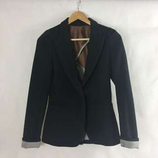 Size Small Black Blazer Jacket