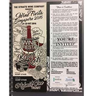 Wine Fiesta Singapore 2016!