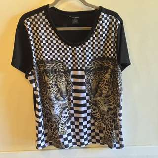 See You Monday Printed Shirt Size L